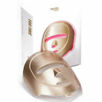 ECO FACE Near-infrared LED Photon Mask for Home Therapy 120 LED lights / Gold