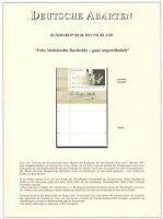 Bund BRD 1997 - MiNr 1953 mit anhängendem Leerfeld postfrisch Top-Qualität (779)