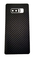 Samsung Galaxy Note 8 Decal Skin - Black Carbon Fiber