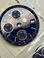 dial  tachymeter  tag heuer   various colors n. 9 pieces  for    valjoux 7750