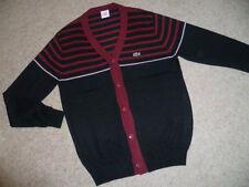 Lacoste V Neck Button-Front Cardigans for Men
