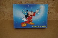 Ancienne mallette magie prestadigitation disney mickey nestlé