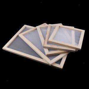 1 Pack Paper Making Kit Mould Screen Frame, DIY Craft Gift, Handcraft ,