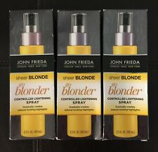 3 John Frieda Sheer Blonde Go Blonder Controlled Lightening Spray bottles 3.5 oz