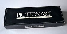 VINTAGE 1987 PICTIONARY THE GAME OF QUICK DRAW BY PARKER GAMES  IN GOOD CON