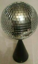 "NEW Rotating Mirror Disco Ball Base Party Wedding ""Lite f/x Attitude Lighting"""