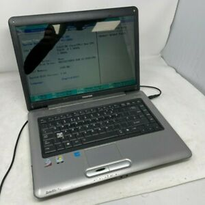 """Toshiba Sat Pro A300, 15.4"""", Core 2 Duo, 2GB RAM, NO HDD - Spares & Repairs"""