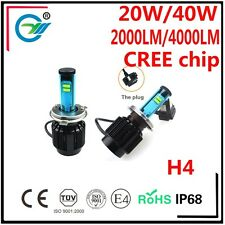 H4 Car Led Headlight 80W 8000LM CREE CHIPS H13 HIGH LOW BULB 9004 9007 6000K