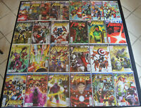 (26) Book THE AVENGERS LOT with #1-6 8-9 12.1 18-24 24.1 25-34 (NM+) Heroic Age