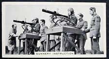 RAF    Air Observer School  Gunnery Training   Vintage 1930's Photo Card  VGC
