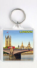 London Big ben Red Bus Keyring Souvenir Keyring