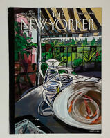 COVER ONLY ~ The New Yorker, July 30, 2012 ~ Javier Mariscal