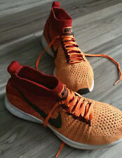 NIKE PEGASUS FLYKNIT ZOOM ALL OUT ORANGE/BLACK/UNVRY-RED GS SIZE 4 (844979-800)