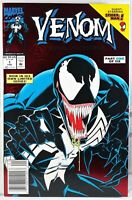 🔥 VENOM LETHAL PROTECTOR #1 NEWSSTAND VARIANT Red Foil SPIDER-MAN Marvel Comics