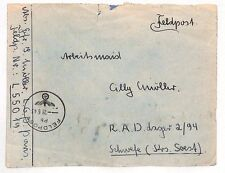 AJ331 1943 WW2 GERMANY Wehrmacht Field Post {samwells-covers}