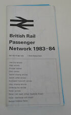 British Rail Passenger Network 1983-84 (AGK1130)