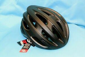 New - Bell Formula Bike Road Helmet - Matt / Gloss Black / Grey - Med