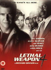 Lethal Weapon 4 DVD (2001) Mel Gibson