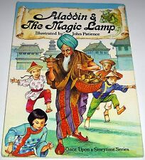 Aladdin & The Magic Lamp by John Patience (1989?, Hardcover)