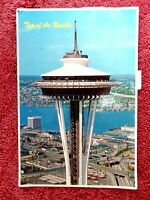 SPACE  NEEDLE SEATTLE  WASHINGTON U.S.A.   COLOUR POSTCARD  [296]