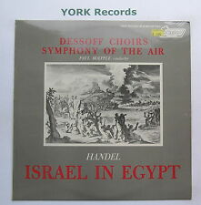 TV 37013S - HANDEL - Israel In Egypt BOEPPLE Dessoff Choirs - Ex Con LP Record