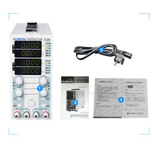 220V 2CH Dual Channel Power Supply Adjustable LCD DC Electronic Load 30A 40A 80V