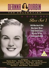 DEANNA DURBIN THE COLLECTION BOX SET 1 - MAD ABOUT MUSIC, BECAUSE OF HIM & MORE