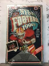 1991 Upper Deck Box of Sealed Packs of Football Cards