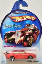 HOT WHEELS HOLIDAY HOT RODS LANCER EVOLUTION 7 RED W+