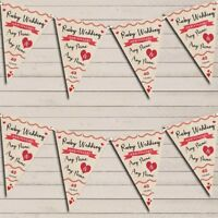 Party Decoration Ruby 40th Wedding Anniversary Bunting Garland Party Banner