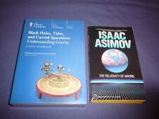 Teaching Co Great Courses DVD  BLACK HOLES TIDES CURVED SPACETIME GRAVITY +bonus