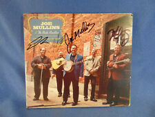 CD Joe Mullins & The Radio Ramblers signed autographed 2012 country music