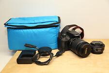 Canon EOS 100D / Rebel SL1 18.0 MP in Schwarz (Kit m/ EF-S 18-55 + 40mm) TOP