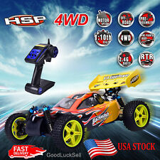 HSP 1/10 94166 RC Car Off-road Buggy Backwach Nitro Gas Powered 4WD RTR US STOCK