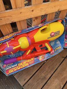 Vintage New  Super Soaker Cps 2700 Water Squirt Gun 1999 Original Strap Read Ad