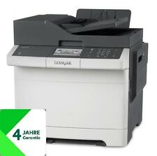 Lexmark CX417de All-in-One-Farblaser, Netzwerk, Duplex, 4-J. Garantie, 28DC568