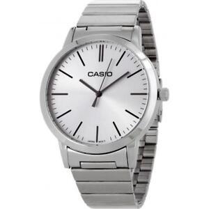 Casio Classic LTP-E118D-7AEF Unisex Analogue Silver Dial Bracelet Watch RRP £60