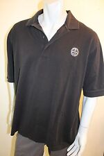 XL PGA Golf Slazenger black polo shirt