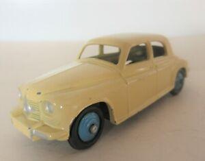 Dinky Toys Rover 75 Four Door Saloon Car - 1950's Dinky Toys Cars Cream & Blue
