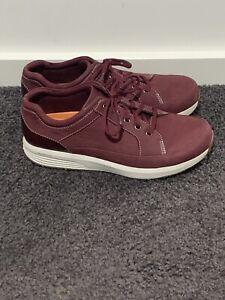 Rockport Burgundy Shoes Size US 8 VGC
