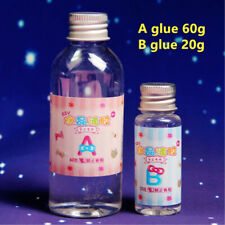 2PC/Set Crystal Clear Resin Pigment Epoxy Transparent Resin Art Craft DIY