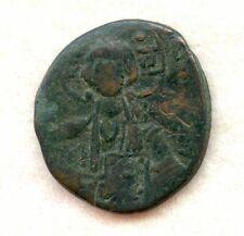 Byzantine ~ Romanus Iii ~ 1,000's Ad ~ 1 Follis ~ F