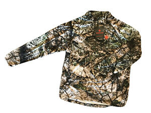 Nomad Midweight 1/4 Zip Pullover - Mossy Oak Terra - Medium - FREE SHIPPING