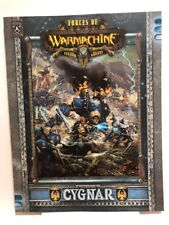 Forces of WARMACHINE - Cygnar RPG Guide (2009) NEW Unread