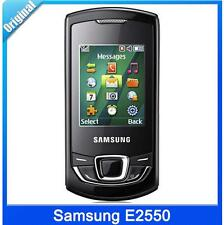 Samsung E2550 Black Monte Slide Unlocked Camera Bluetooth Radio Mobile Phone