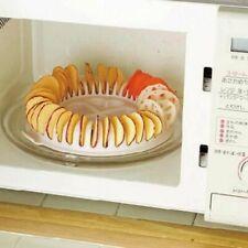 Microwave Potato Chips Maker Oven Fat Free Apple Chips Maker  Baking Pans Chips