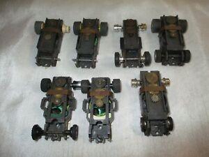 Vintage Aurora AFX Slot Car Chassis Parts