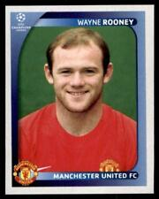 Panini Champions League 2008-2009 - Manchester United Wayne Rooney No.24