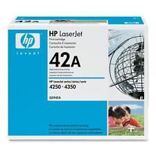 ORIGINALE HP TONER Q5942A NERO LaserJet 4250 4350 a-Ware