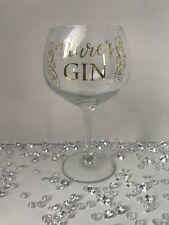 Personalised Gin Glass Made With SWAROVSKI Crystals Any Name